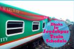 Dhaka to Joydebpur