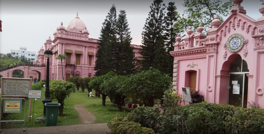 Ahsan Manzil: One of the Most Popular Tourist Attraction in Dhaka City. 1
